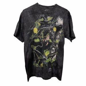 The Mountain Black Bears T-shirt Grey Tie Dye M